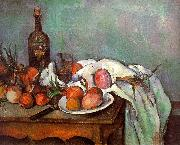 Paul Cezanne Onions and Bottles Germany oil painting reproduction
