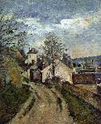 Paul Cezanne The House of Dr Gachet in Auvers Germany oil painting reproduction