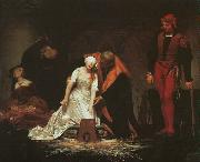 Paul Delaroche The Execution of Lady Jane Grey oil