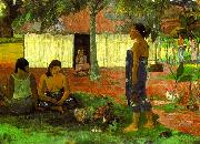 Paul Gauguin Why Are You Angry oil painting artist