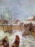 Paul Gauguin The Garden in Winter, rue Carcel oil painting picture wholesale