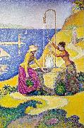 Paul Signac Women at the Well oil painting picture wholesale