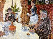 Paul Signac The Dining Room oil painting picture wholesale