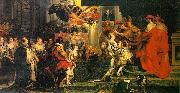 Peter Paul Rubens The Coronation of Marie de Medici oil painting picture wholesale