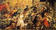 Peter Paul Rubens The Apotheosis of Henry IV and the Proclamation of the Regency of Marie de Medici on the 14th of May oil painting picture wholesale