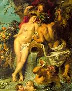 Peter Paul Rubens The Union of Earth and Water Germany oil painting reproduction
