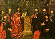 Philippe de Champaigne The Aldermen of the City of Paris oil painting artist