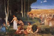Pierre Puvis de Chavannes Summer oil painting artist