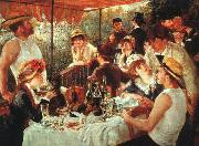 Pierre Renoir Luncheon of the Boating Party oil painting artist