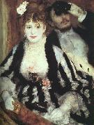 Pierre Renoir The Box at the Opera oil painting artist