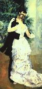 Pierre Renoir Dance in the Town oil painting picture wholesale