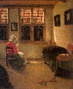 Pieter Janssens Elinga Woman Reading_l Germany oil painting reproduction