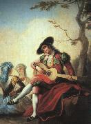 Ramon Bayeu Boy with Guitar Germany oil painting reproduction