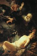 Rembrandt The Sacrifice of Isaac oil painting picture wholesale