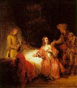 Rembrandt Joseph Accused by Potiphar's Wife oil painting picture wholesale