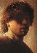 Rembrandt Self Portrait  ffcx oil painting picture wholesale