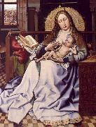 Robert Campin The Virgin and the Child Before a Fire Screen oil painting picture wholesale