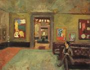 Roger Fry A Room in the Second Post-Impressionist Exhibition(The Matisse Room) oil painting picture wholesale