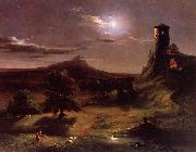 Thomas Cole Moonlight oil painting picture wholesale