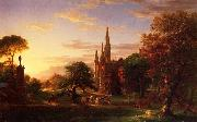 Thomas Cole The Return oil painting picture wholesale