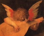 Rosso Fiorentino Angelic Musician oil painting artist