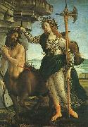 Sandro Botticelli Pallas and the Centaur Germany oil painting reproduction