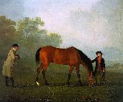 Sawrey Gilpin Furiband with his Owner Sir Harry Harpur and a Groom oil painting picture wholesale