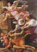 Simon Vouet Saturn, Conquered by Amor, Venus and Hope oil painting picture wholesale