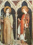 Simone Martini St.Clare and St.Elizabeth of Hungary oil painting picture wholesale