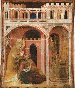 Simone Martini Miracle of Fire oil painting picture wholesale