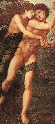 Sir Edward Coley Burne-Jones Phyllis and Demophoon oil painting artist
