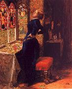 Sir John Everett Millais Mariana oil painting artist