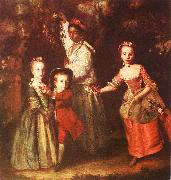 Sir Joshua Reynolds The Children of Edward Hollen Cruttenden oil painting artist