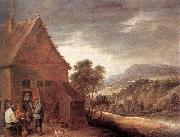 TENIERS, David the Younger Before the Inn fy oil painting picture wholesale