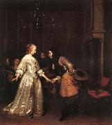 TERBORCH, Gerard The Dancing Couple rt oil painting picture wholesale