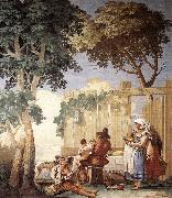 TIEPOLO, Giovanni Domenico Family Meal  kjh oil painting picture wholesale