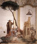 TIEPOLO, Giovanni Domenico Offering of Fruits to Moon Goddess nmoih oil painting picture wholesale