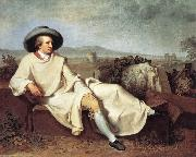TISCHBEIN, Johann Heinrich Wilhelm Goethe in The Roman Campagna iuh oil painting picture wholesale