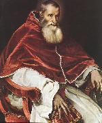 TIZIANO Vecellio Portrait of Pope Paul III atr oil painting picture wholesale