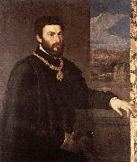 TIZIANO Vecellio Portrait of Count Antonio Porcia t oil painting picture wholesale