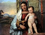 TIZIANO Vecellio Gipsy Madonna r oil painting picture wholesale