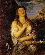 TIZIANO Vecellio Penitent Mary Magdalen r oil painting picture wholesale