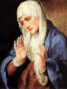 TIZIANO Vecellio Mater Dolorosa (with outstretched hands) aer oil painting picture wholesale