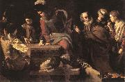 TOURNIER, Nicolas Denial of St Peter er oil painting picture wholesale