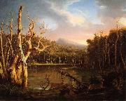 Thomas Cole Lake with Dead Trees oil painting picture wholesale
