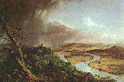 Thomas Cole The Connecticut River near Northampton oil painting picture wholesale