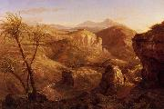 Thomas Cole The Vale and Temple of Segesta oil painting picture wholesale