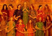 Thomas Cooper Gotch Alleluia oil