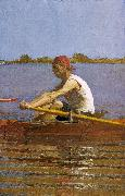 Thomas Eakins John Biglin in a Single Scull oil painting picture wholesale
