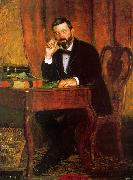 Thomas Eakins Dr Horatio Wood oil painting picture wholesale